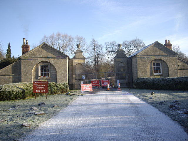 Clumber Park Entrance, Lime Tree Avenue