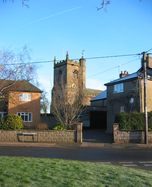 St Margaret's church tower, Wrenbury