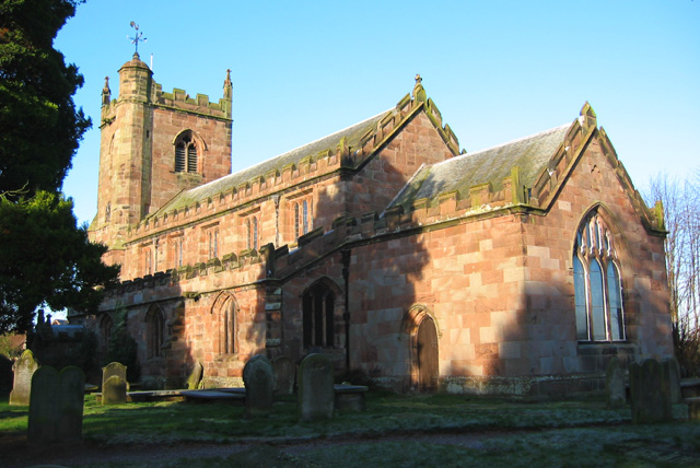 St Margaret's church, Wrenbury
