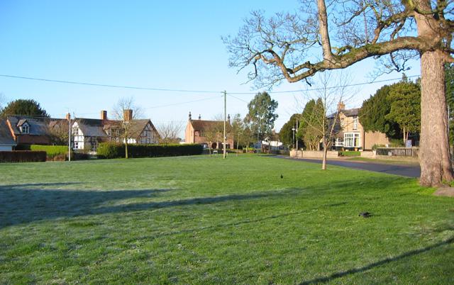 Village green, Wrenbury