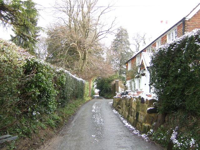 Lane to Comptons