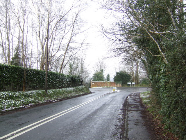Junction at Sleeches Cross