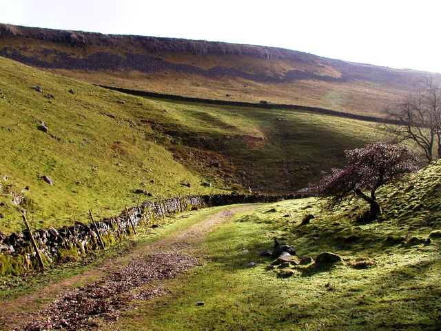 The Path from Gaping Gill near Trow Gill