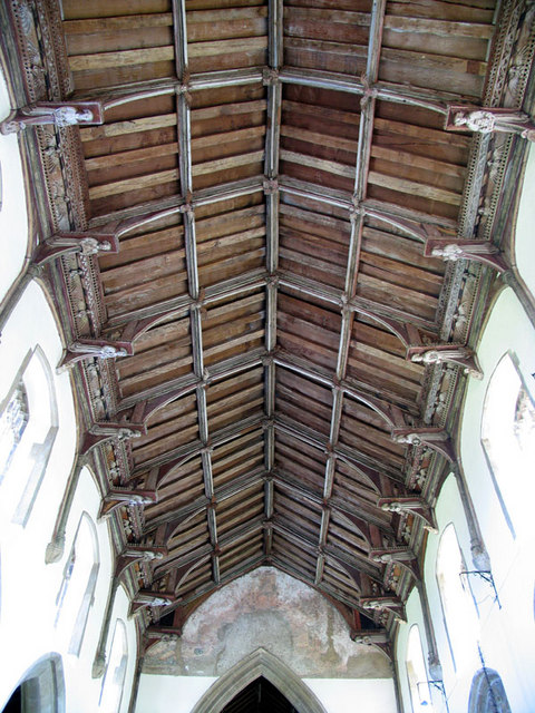 St Mary, North Creake, Norfolk - Roof