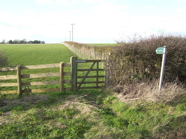Footpath to Barleypark Farm