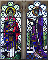 TF8342 : St Margaret, Burnham Norton, Norfolk - Window by John Salmon