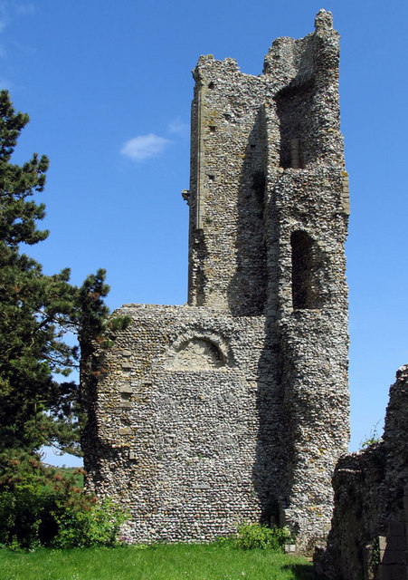 St Mary & Holy Cross, Binham Priory, Norfolk - Ruins