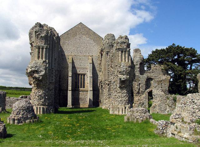 St Mary & Holy Cross, Binham Priory, Norfolk - Ruins