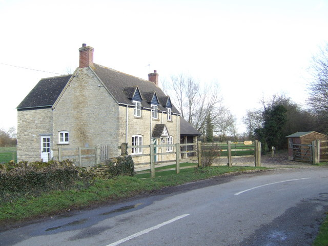 Cottage at the east end of Hardwick