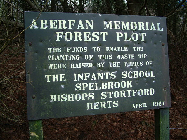 Spelbrook memorial sign