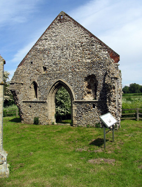 St Mary's Friary, Burnham Norton, Norfolk