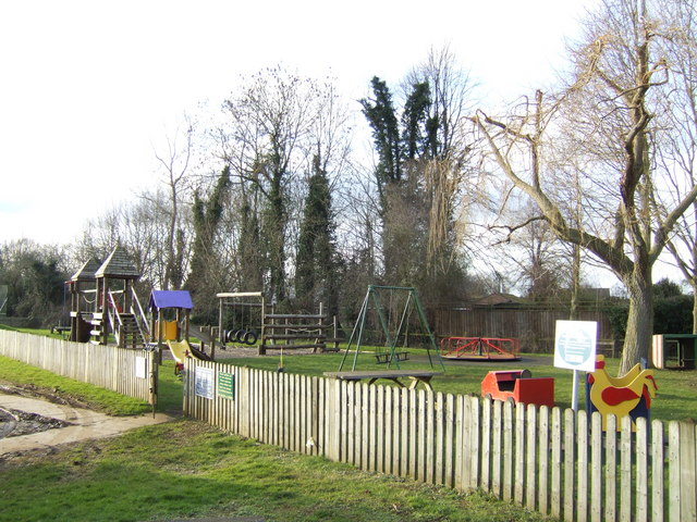 Standlake children's playground