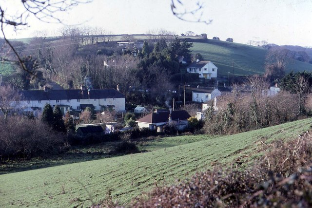 An older view of Calenick