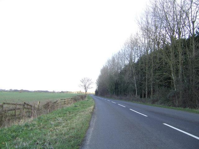 B4449 Aston Road, Brighthampton.
