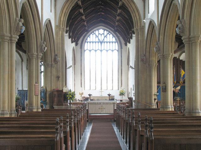 St Nicholas, Wells next the Sea, Norfolk - East end