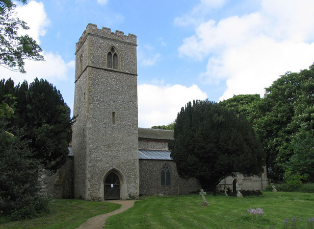 All Saints, Stanhoe, Norfolk