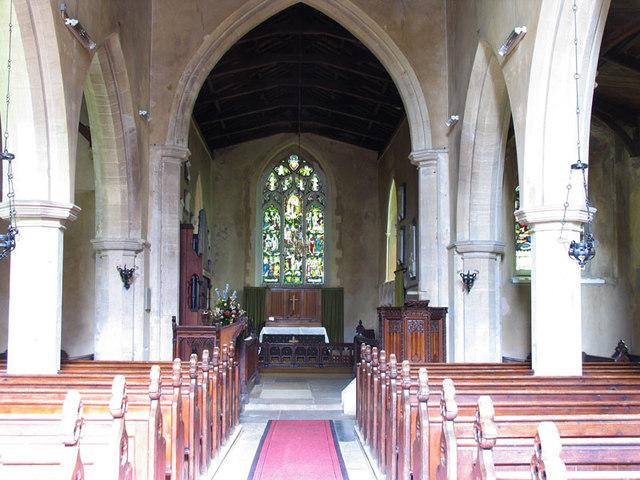 All Saints, Stanhoe, Norfolk - East end