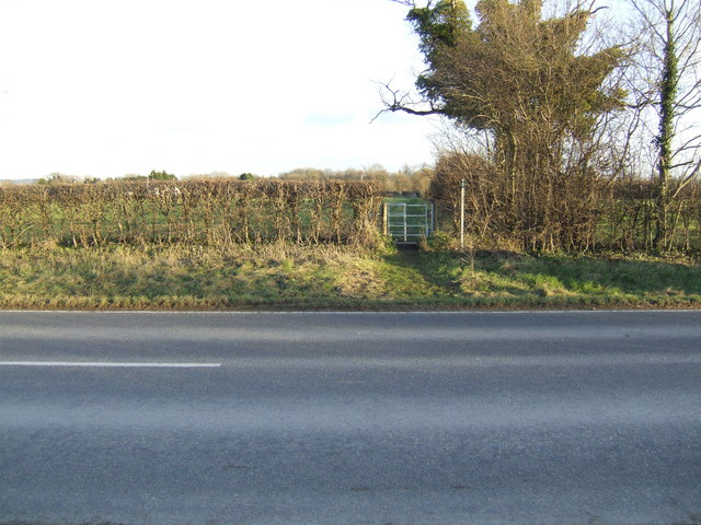 Footpath across the by-pass.