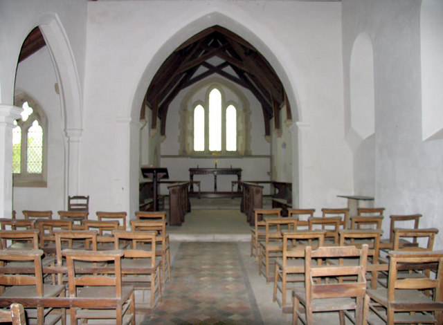 All Saints, Barmer, Norfolk - East end