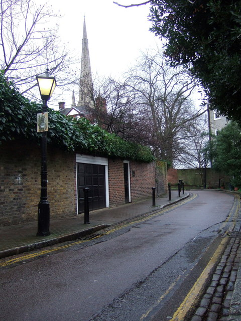 Elm Row and Christ Church spire
