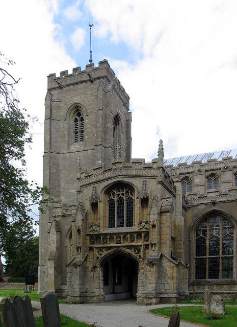 St Peter, Walpole St Peter, Norfolk - Tower & porch