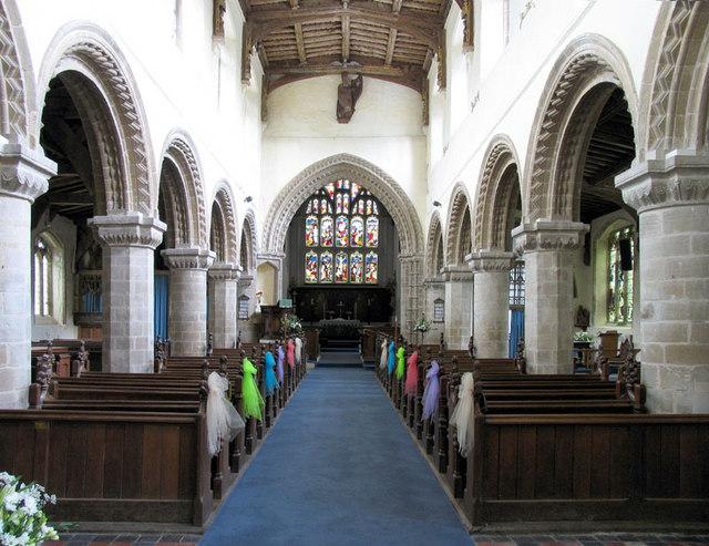 All Saints, Walsoken, Norfolk - East end