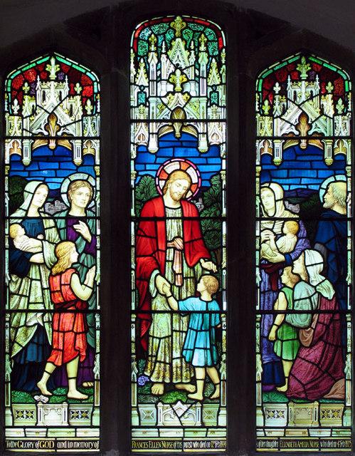 All Saints, Walsoken, Norfolk - Window