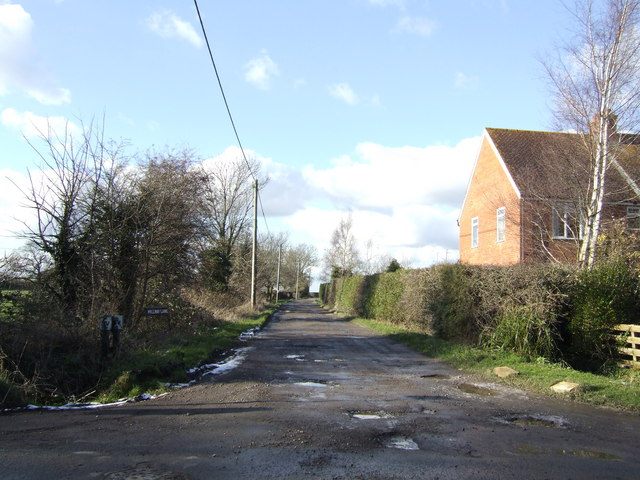 Bridleway to Appleton Lower Common