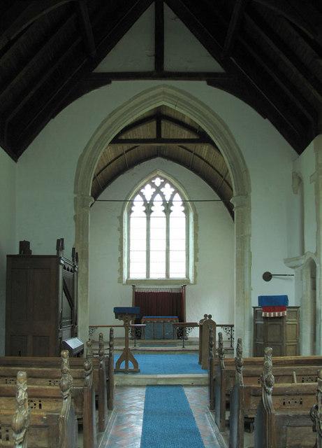 St Mary, Bodney, Norfolk - East end