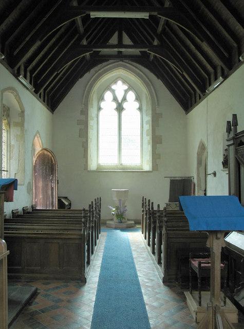 St Mary, Bodney, Norfolk - West end