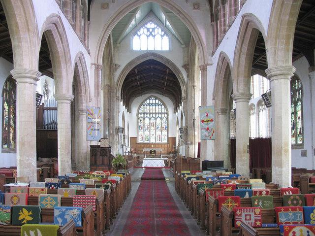 St Clement, Terrington St Clement, Norfolk - East end