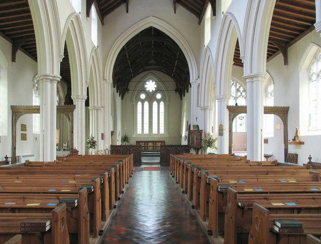 St James, Castle Acre, Norfolk - East end