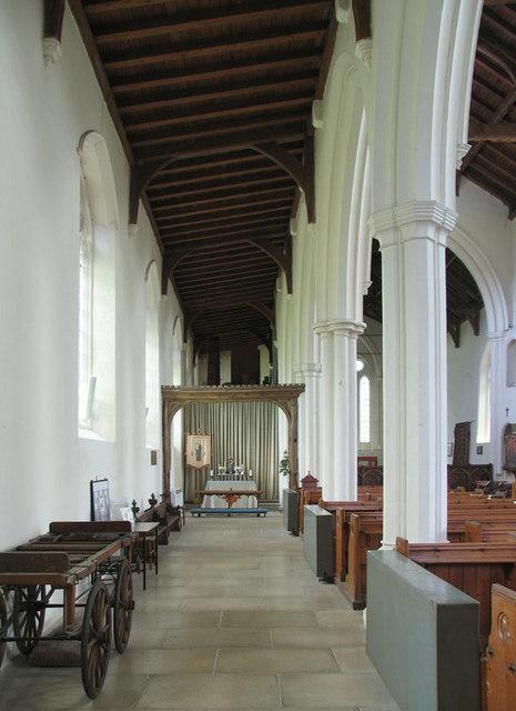 St James, Castle Acre, Norfolk - North aisle