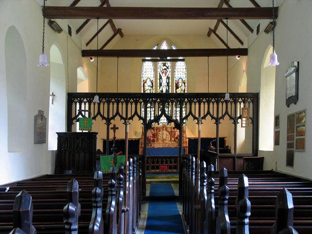St Nicholas, Twyford, Norfolk - East end