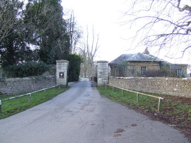 Gateway and lodge, Blenheim Park