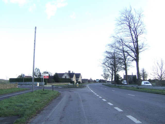 The A44 at Campsfield