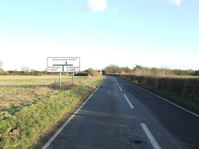 B4027 - A4260 staggered junction