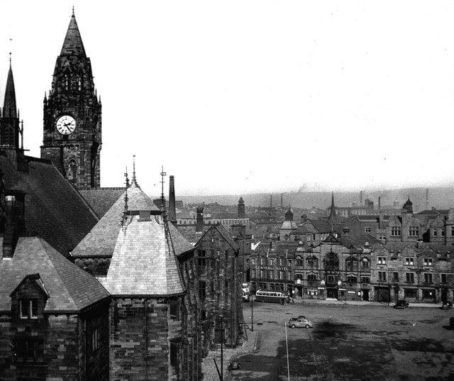 Town Hall Square, Rochdale, Lancashire