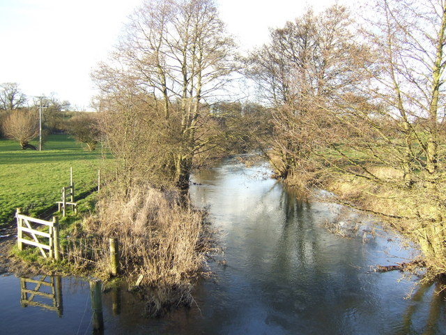 River Glyme at Stratford Bridge