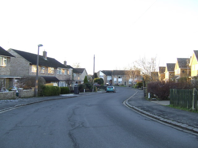 Housing estate, Long Hanborough