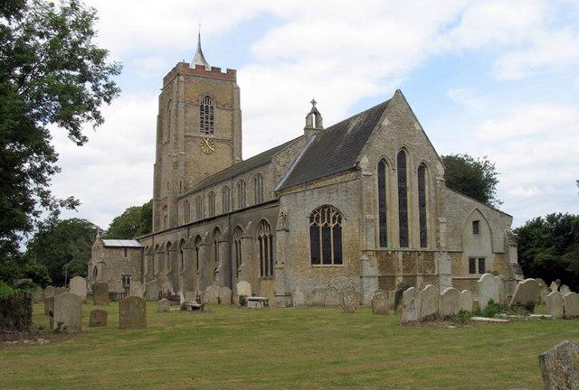 St Edmund, Emneth, Norfolk