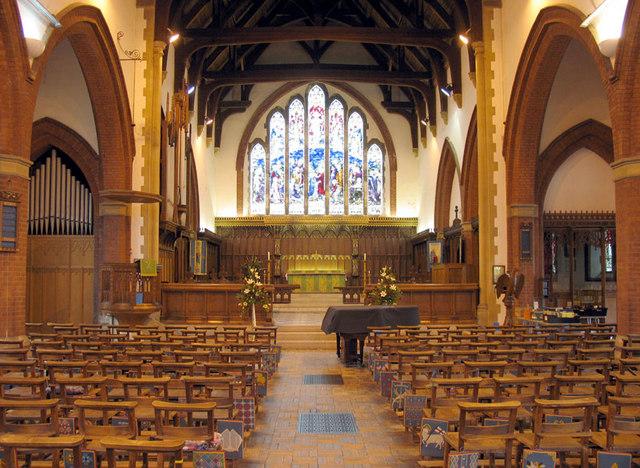 St Peter, Sheringham, Norfolk - East end