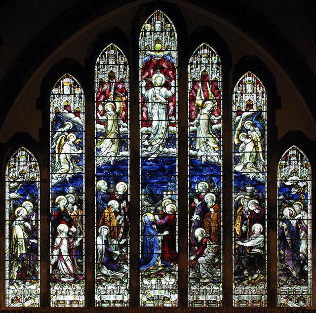St Peter, Sheringham, Norfolk - East window