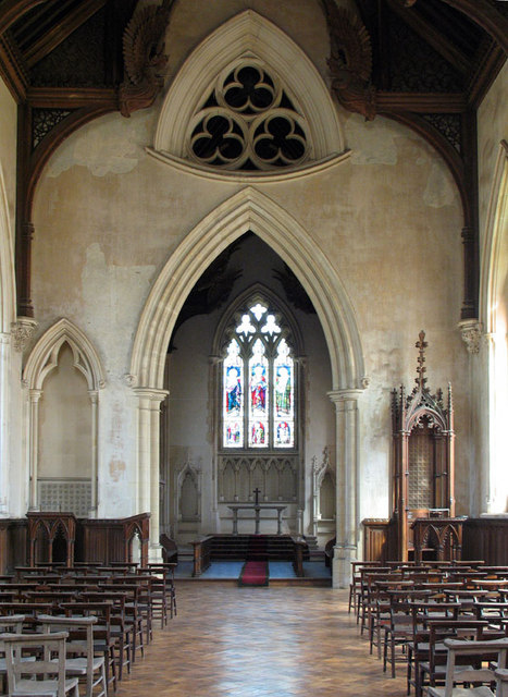 St Michael & All Angels, Booton, Norfolk - East end