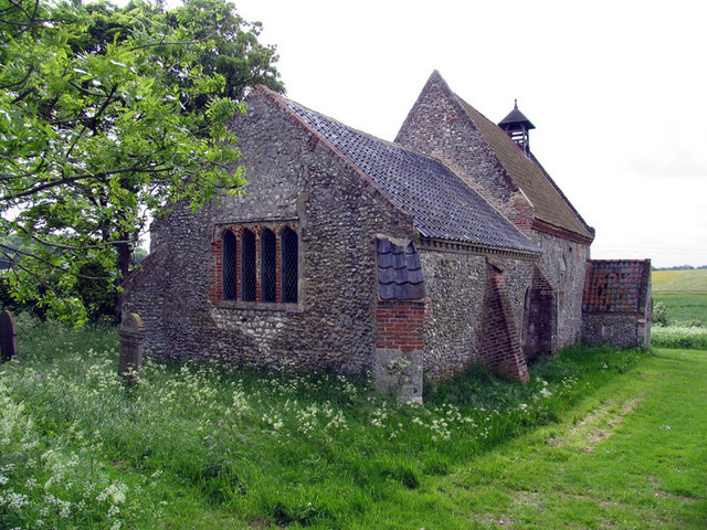 All Saints, Waterden, Norfolk