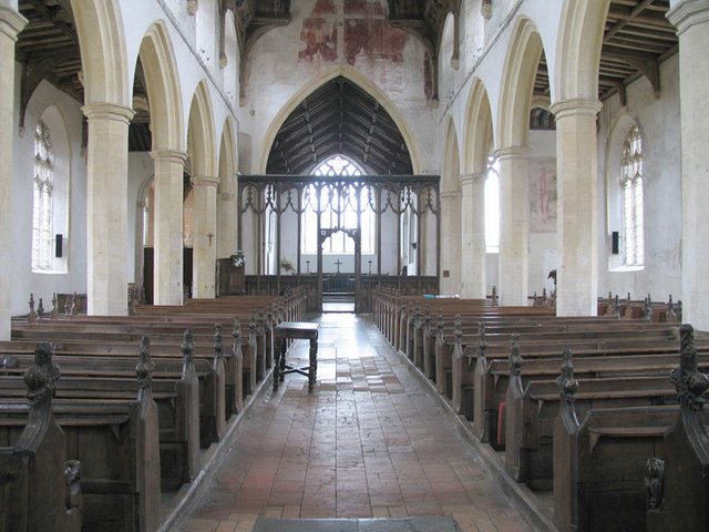 St Agnes, Cawston, Norfolk - East end