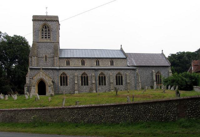St Andrew, Blickling, Norfolk