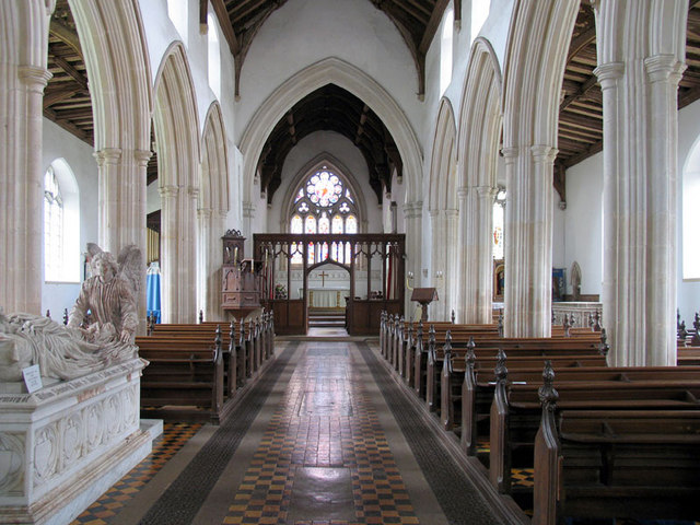 St Andrew, Blickling, Norfolk - East end