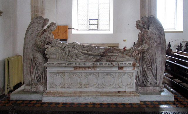 St Andrew, Blickling, Norfolk - Tomb chest