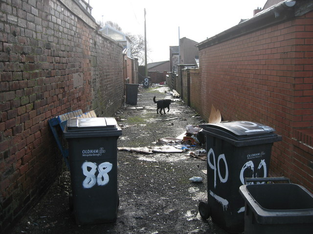 A Back Alley in Oldham